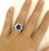 One of a Kind - Vintage Style Genuine Madagascar Blue Sapphire Ring