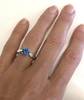 Sapphire Solitaire Engagement Rings