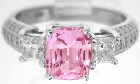 Fine Pink Sapphire Ring