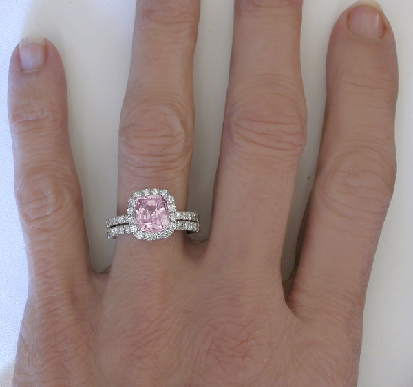 split light colored diamond two shank square diamonds and uneek upper ring engagement naturally double pink rings with tone