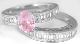 Baby Pink Sapphire Ring