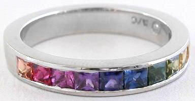 Colored Sapphire Ring