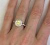 ... Bright Yellow Sapphire Engagement Rings ...